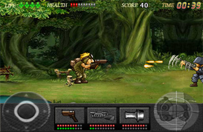 Screenshots of the Action Commando game for iPhone, iPad or iPod.