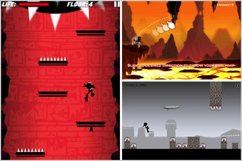 Screenshots of the Action heroes 9 in 1 game for iPhone, iPad or iPod.