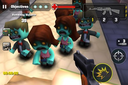 Screenshots of the Action of mayday: Zombie world game for iPhone, iPad or iPod.