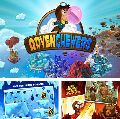 In addition to the game Lords of discord for iPhone, iPad or iPod, you can also download AdvenChewers for free.