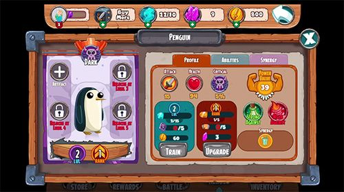 iPhone、iPad または iPod 用Adventure time: Champions and challengersゲームのスクリーンショット。