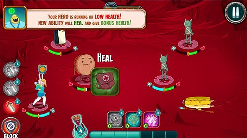 Écrans du jeu Adventure time: Champions and challengers pour iPhone, iPad ou iPod.