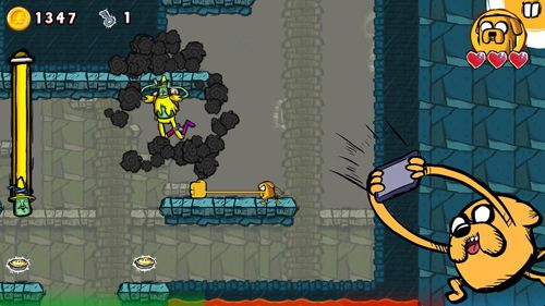 Download Adventure time: Game wizard iPhone free game.