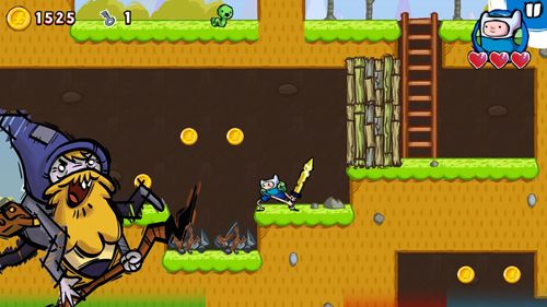 Free Adventure time: Game wizard download for iPhone, iPad and iPod.
