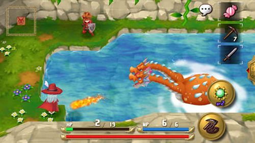 Capturas de pantalla del juego Adventures of Mana para iPhone, iPad o iPod.
