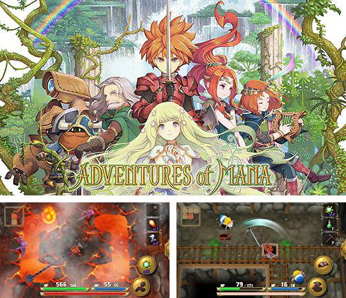 除了 iPhone、iPad 或 iPod 游戏,您还可以免费下载Adventures of Mana, 。