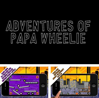 In addition to the game Cavorite for iPhone, iPad or iPod, you can also download Adventures of Papa Wheelie for free.