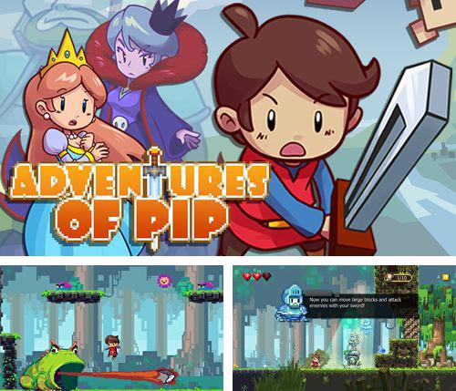 In addition to the game The nightmare cooperative for iPhone, iPad or iPod, you can also download Adventures of Pip for free.