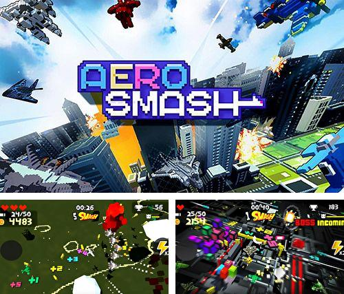 Download Aero smash: Open fire iPhone free game.