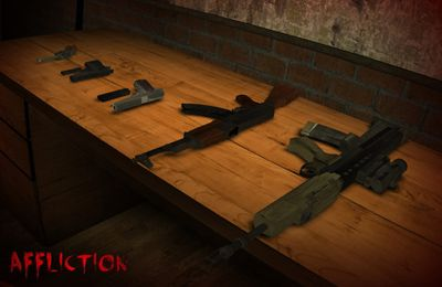 Capturas de pantalla del juego Affliction: Zombie Rising para iPhone, iPad o iPod.