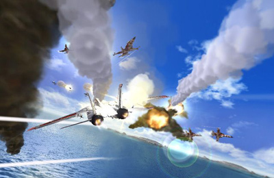 Screenshots of the After Burner Climax game for iPhone, iPad or iPod.