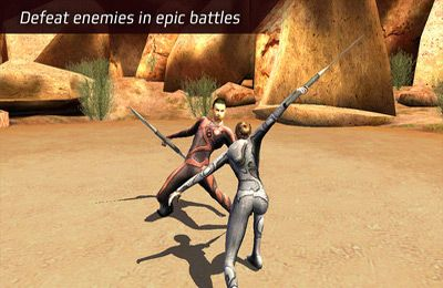 Écrans du jeu After Earth pour iPhone, iPad ou iPod.