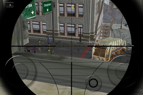 Screenshots vom Spiel After the zombies für iPhone, iPad oder iPod.