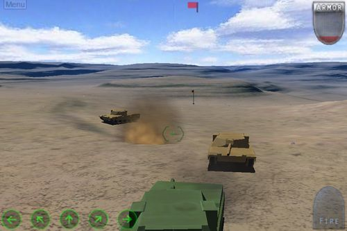 Écrans du jeu After war: Tanks of freedom pour iPhone, iPad ou iPod.