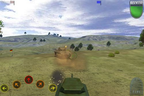 Screenshots of the After war: Tanks of freedom game for iPhone, iPad or iPod.