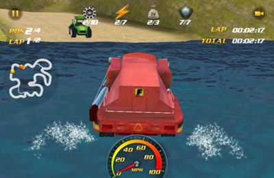 Capturas de pantalla del juego Ag Racer para iPhone, iPad o iPod.