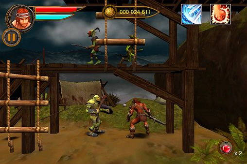 Baixe Age of barbarians gratuitamente para iPhone, iPad e iPod.