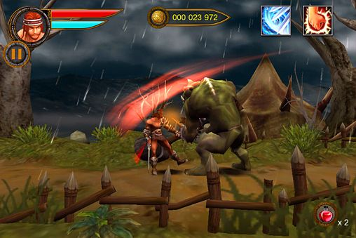 Screenshots of the Age of barbarians game for iPhone, iPad or iPod.