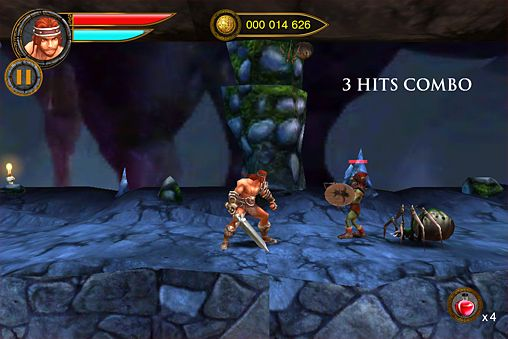 Screenshots do jogo Age of barbarians para iPhone, iPad ou iPod.