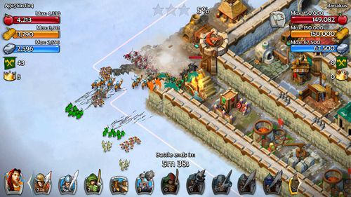 Download Age of empires: Castle siege iPhone free game.