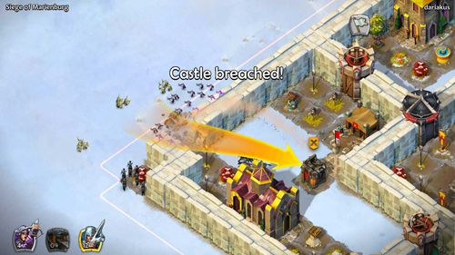 Screenshots of the Age of empires: Castle siege game for iPhone, iPad or iPod.