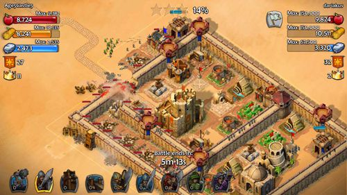 Скриншот игры Age of empires: Castle siege на Айфон.