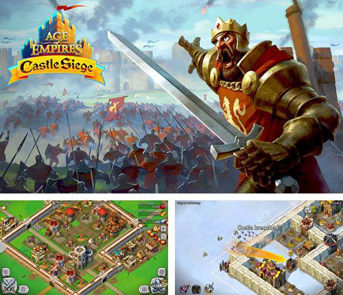 除了 iPhone、iPad 或 iPod 游戏,您还可以免费下载Age of empires: Castle siege, 。