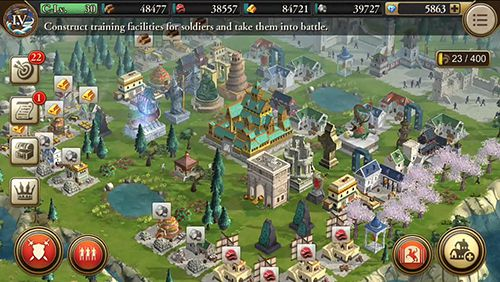 Baixe o jogo Age of empires: World domination para iPhone gratuitamente.