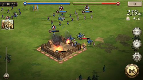 Kostenloser Download von Age of empires: World domination für iPhone, iPad und iPod.