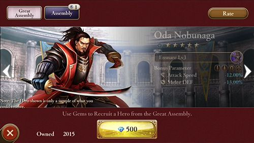 Screenshots do jogo Age of empires: World domination para iPhone, iPad ou iPod.