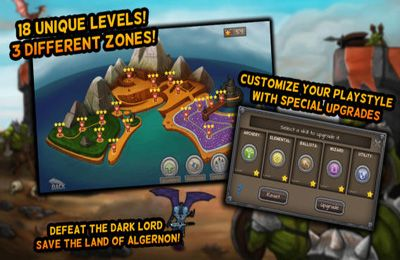 Écrans du jeu Age of Thrones pour iPhone, iPad ou iPod.