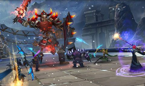 Descarga gratuita de Age of warriors: The frozen Elantra para iPhone, iPad y iPod.