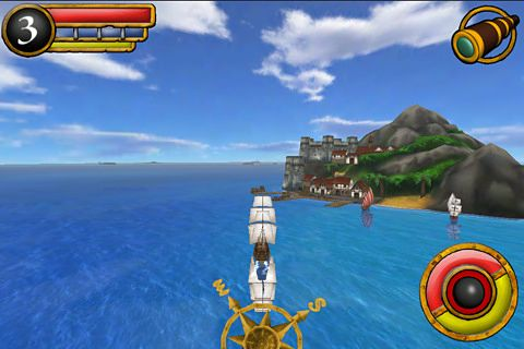 Écrans du jeu Age of wind 2 pour iPhone, iPad ou iPod.