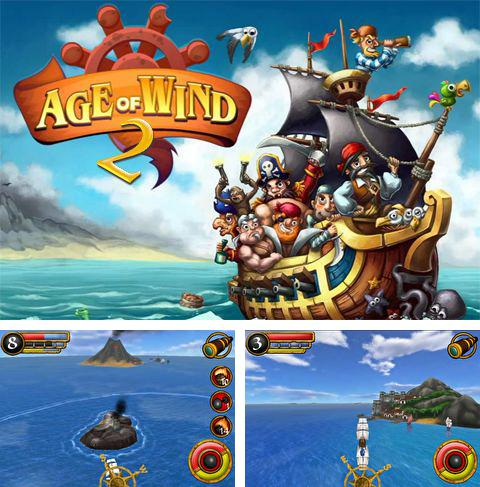 In addition to the game Skate it for iPhone, iPad or iPod, you can also download Age of wind 2 for free.