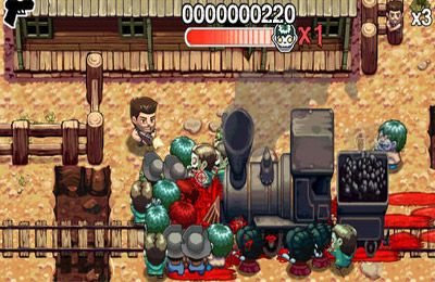 Download Age of Zombies iPhone free game.