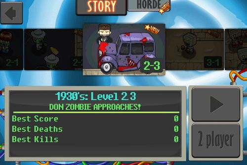 Download Age of zombies: Season 2 iPhone free game.