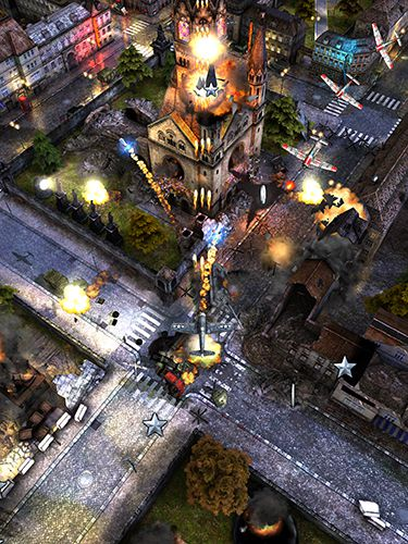 Écrans du jeu Air attack 2 pour iPhone, iPad ou iPod.