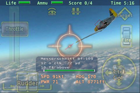 Download Air battle of Britain iPhone free game.