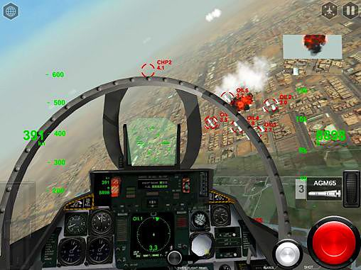 Kostenloses iPhone-Game Air Fighters Pro herunterladen.