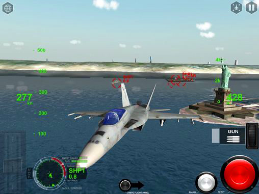 Screenshots vom Spiel Air fighters pro für iPhone, iPad oder iPod.