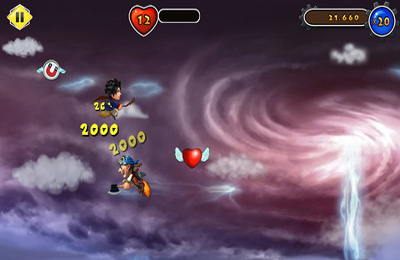 Screenshots do jogo Air Heroes para iPhone, iPad ou iPod.