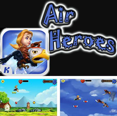 In addition to the game Dragon island blue for iPhone, iPad or iPod, you can also download Air Heroes for free.
