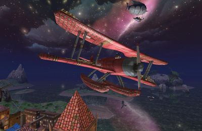 Screenshots of the Air Mail game for iPhone, iPad or iPod.