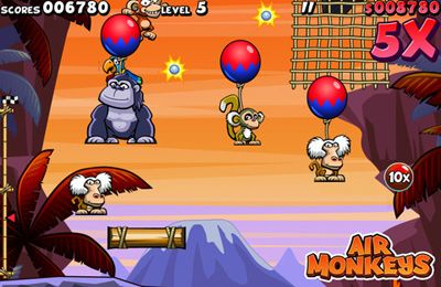 Download Air Monkeys iPhone free game.