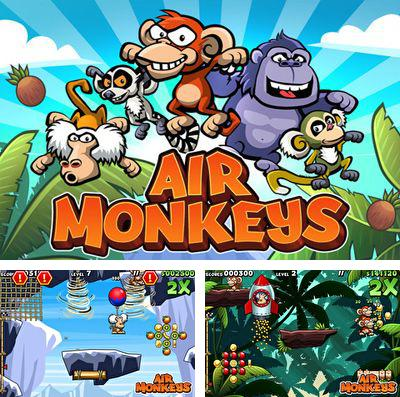 In addition to the game Crowman and Wolfboy for iPhone, iPad or iPod, you can also download Air Monkeys for free.