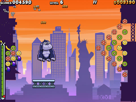Descarga gratuita de Air monkeys in New York para iPhone, iPad y iPod.