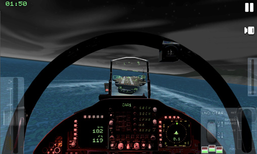 Capturas de pantalla del juego Air navy fighters para iPhone, iPad o iPod.