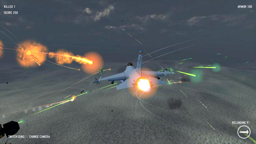 Descarga gratuita de Air strike: Omega para iPhone, iPad y iPod.