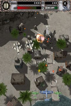 Screenshots do jogo AirAttack para iPhone, iPad ou iPod.