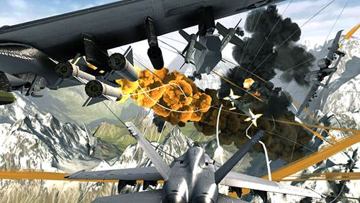 Descarga gratuita de Aircraft combat para iPhone, iPad y iPod.
